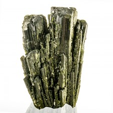 "2.1"" Dark Green EPIDOTE Sharp Lustrous Terminated Crystals to 1.9"" Peru for sale"