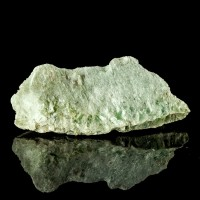 "5.7"" Mint Green Foliated TALC Crystals World's Softest Mineral Vermont for sale"