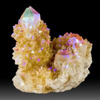 """2.5"""" Iridescent RAINBOW SPIRIT QUARTZ Terminated Crystals South Africa for sale"""