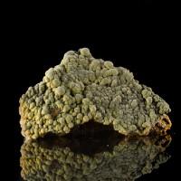 "4.2"" Velvet DarkGreen MOTTRAMITE Botryoidal Crystals Mina Ojuela Mexico for sale"