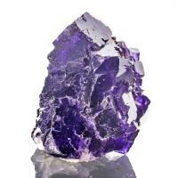 "3.2"" Grape Purple MUZQUIZ FLUORITE Sharp Shiny Cubic Crystals Mexico for sale"