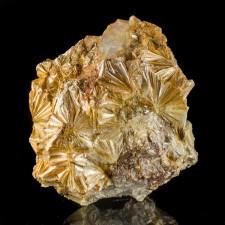 """3.1"""" PYROPHYLLITE Radiating Rosettes Lt. Orange Crystals North Carolina for sale"""