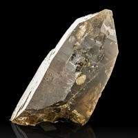 """2.5"""" Sharp Brown Black Terminated SMOKY QUARTZ Crystal White Mtns NH for sale"""