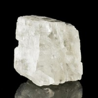 """1.4"""" 110ct Brilliant Gemmy Clear Rare PETALITE Crystal Section Brazil for sale"""