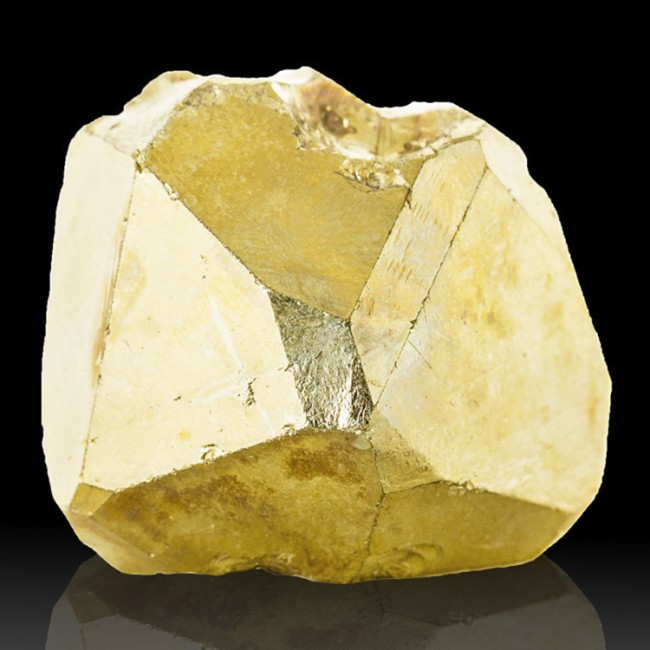 "2.8"" Flashy Metallic GOLDEN PYRITE Sharp Pyritohedral Crystal Tanzania for sale"