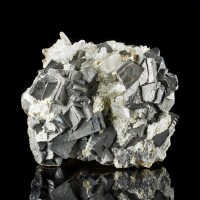"2.9"" Metallic Silver ARSENOPYRITE Sharp Crystals to .8"" on Matrix China for sale"