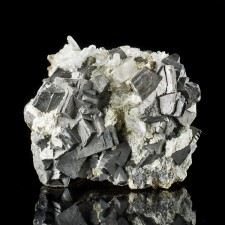 "2.9"" Metallic Silver ARSENOPYRITE Sharp Crystals to .8"" on Matrix China for sale"