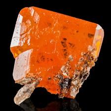 16mm Red Orange WULFENITE Shiny Colorful Crystal Red Cloud Mine Arizona for sale