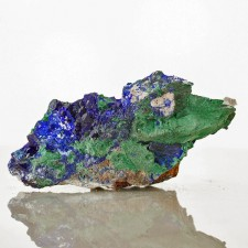 """3.4"""" Mirror-Faced AZURITE Sharp Terminated Rich Blue Crystals Milpillas for sale"""