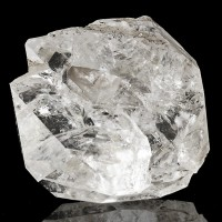 "1.9"" SeeThru Gemmy HERKIMER DIAMOND Double Terminated Quartz Crystal NY for sale"