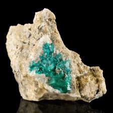 """2.6"""" Vivid EmeraldGreen DIOPTASE Sharp Flashy Gemmy Crystals Kazakhstan for sale"""