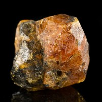 "1.1"" 158ct SPESSARTINE GARNET Saturated Orange Twin Crystals Tanzania for sale"