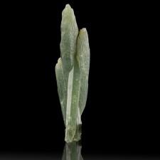 "2.4"" Rich Olive Green PRASE QUARTZ Crystals w-Actinolite Serifos Greece for sale"