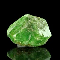"1.1"" 77ct Hi-Luster Grass Green Gemmy TSAVORITE GARNET Crystal Tanzania for sale"