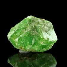 "1.1"" 77ct Hi-Luster Grass Green Gemmy TSAVORITE GARNET Crystal Tanzania for sale"