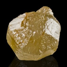 1.83ct 6mm DIAMOND CRYSTAL Sharp Dodecahedral Habit Golden Color Congo for sale