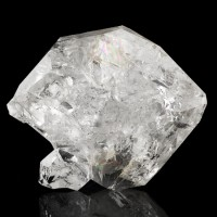 "2.1"" HERKIMER DIAMOND Quartz Clear Twinned Crystal w-Rainbows New York for sale"