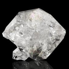 "2.1"" HERKIMER DIAMOND Quartz Clear Twinned Crystal w-Rainbows New York for sale"