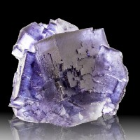 "2.9"" Blue +Purple PHANTOMS Cubic FLUORITE Crystals Sharp+Shiny Illinois for sale"