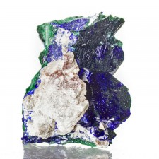 """1.1"""" Sharp Glassy Deep Blue AZURITE Crystals on Matrix Milpillas Mexico for sale"""