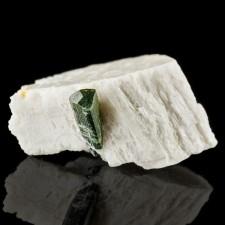 "1.6"" Bi-Color TOURMALINE Gemmy Terminated Crystal in Feldspar Pakistan for sale"