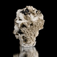 "2.7"" Sharp Lustrous Metallic CASSITERITE Crystal-Brazil"